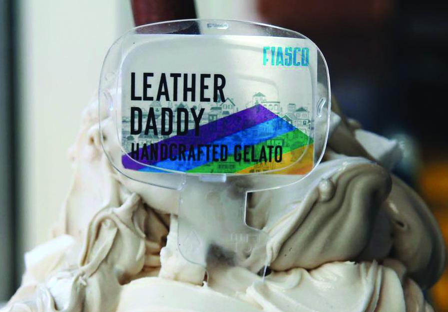 Leather Daddy for Calgary Pride. Photo courtesy Fiasco Gelato
