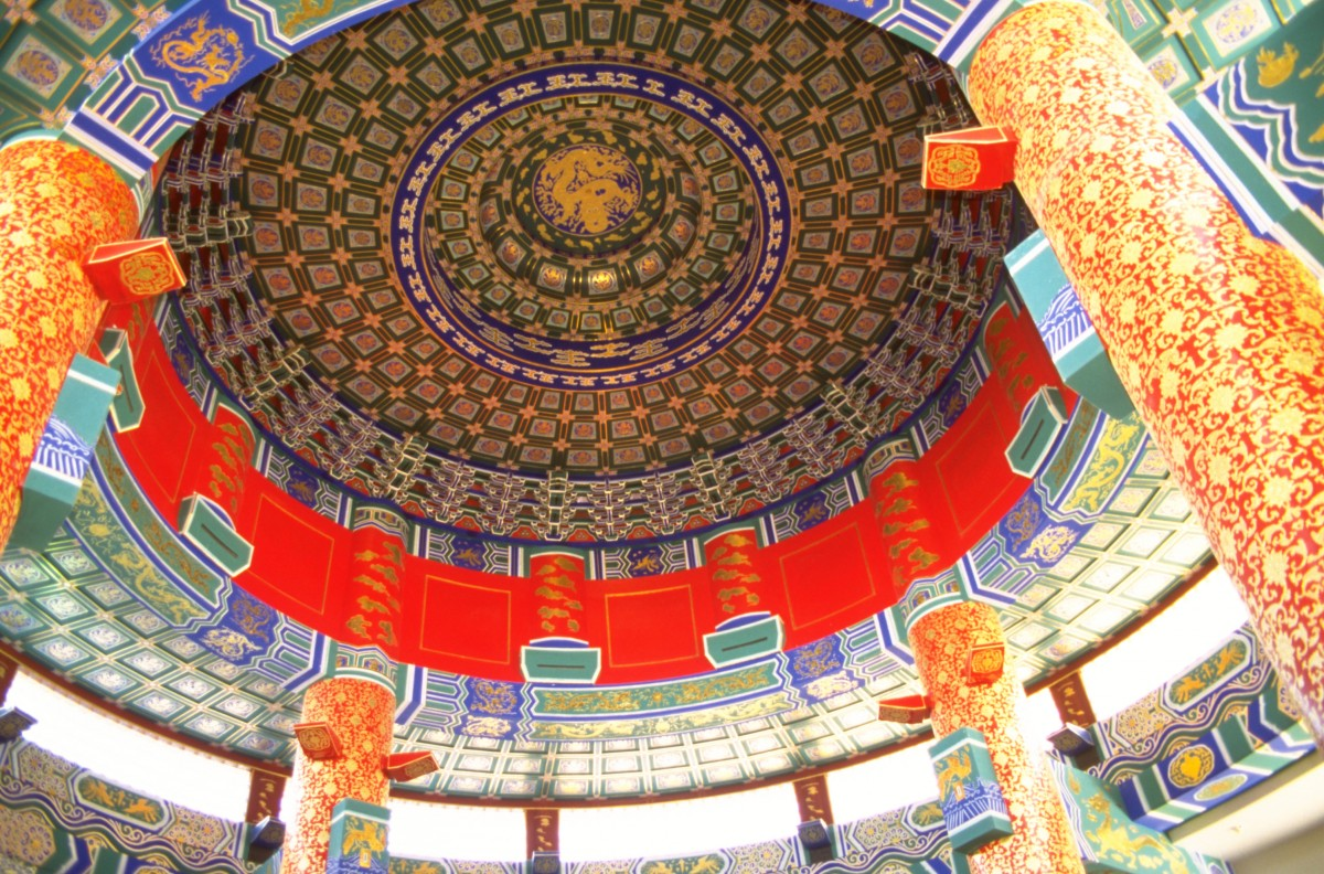 Interior of the Chinese Cultural Centre. Photo courtesy Travel Alberta