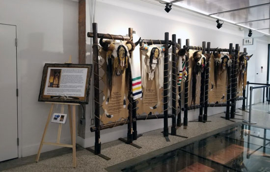 Indigenous cultures traditional regalia from Making Treaty 7 Cultural Society