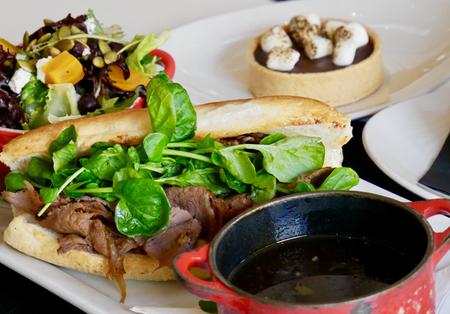 Yellow Door Bistro makes use of Deepwater Farms produce on their menu items. Photo courtesy Yellow Door Bistro